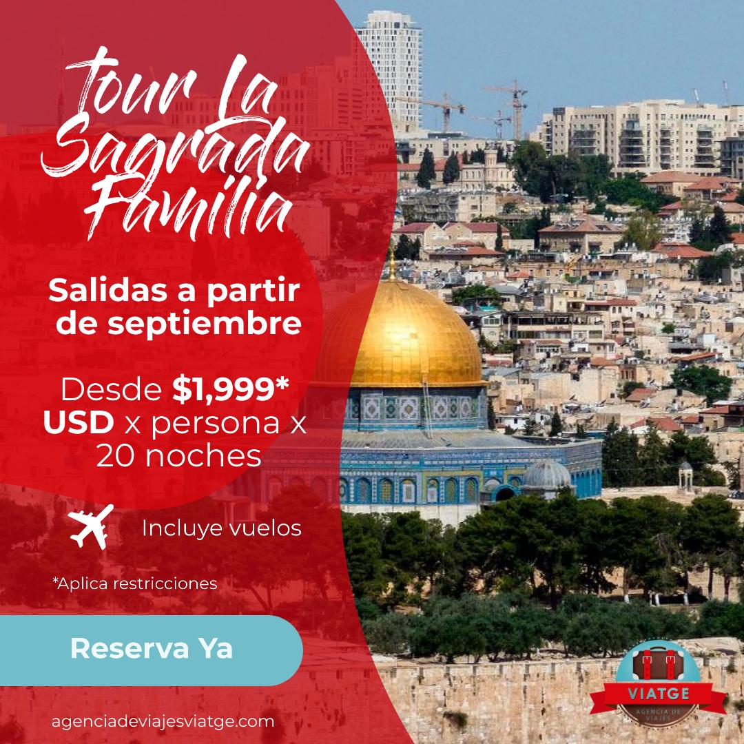 La Sagrada Familia con Viatge